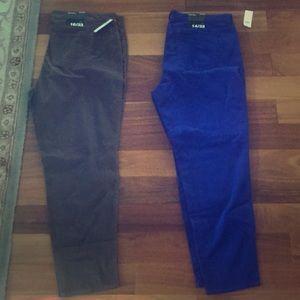 GAP lightweight Corduroy Skinny Jeans